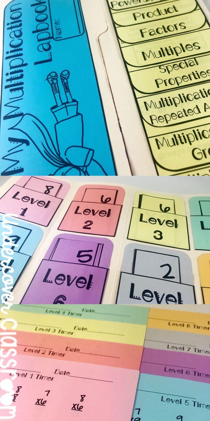 Multiplication Lapbook: Concepts & Fact Fluency Kit (Super pertaining to Multiplication Lapbook Printable