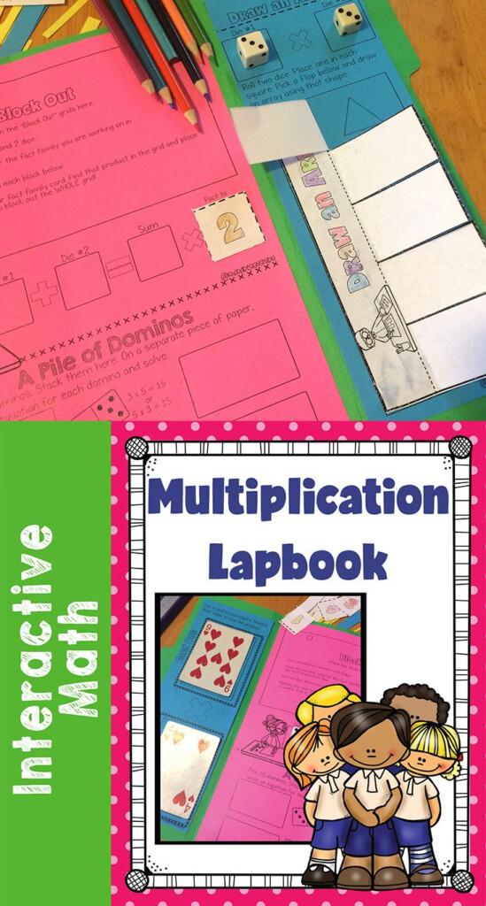 Multiplication Strategies Interactive Lapbook And Games Within Multiplication Lapbook Printable