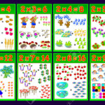 Multiplication Table2 For Kids. Educational Page For Math.. Within Multiplication Houses Printable