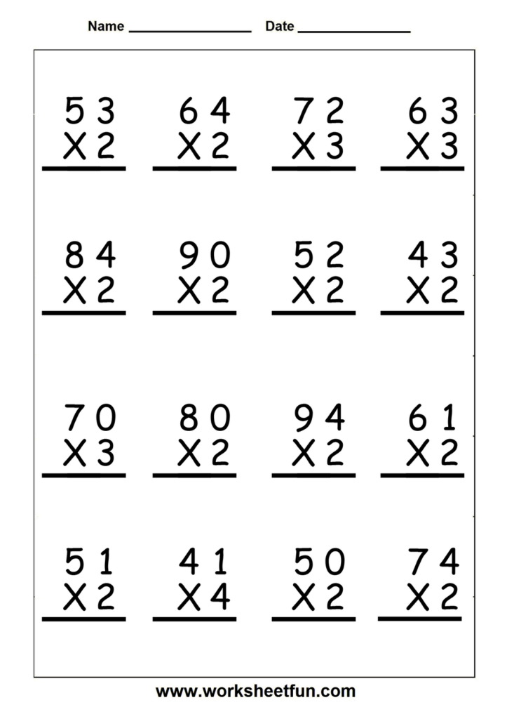Multiplication Word Problems Grade 5 Worksheet Examples Pertaining To Worksheets On Multiplication For Grade 5