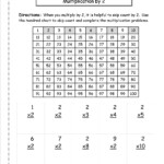 Multiplication Worksheets And Printouts With Worksheets In Multiplication