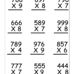Multiplication Worksheets Grade 5 Free | Math Worksheets In Printable Grade 5 Multiplication Worksheets