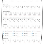 Ninalazina   Addition Subtraction Multiplication Division With Worksheets In Multiplication And Division