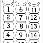 Number Chart 1 15 | Preschool Number Worksheets, Number Within Printable Multiplication Flash Cards 1 15