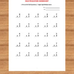 Pin On Kids With Multiplication Worksheets Year 3 Pdf
