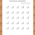 Pin On Math Worksheets For Kids Intended For Printable Multiplication Worksheets Grade 5