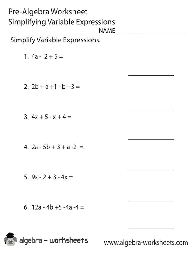 Pinjerry Jenkins On Kids Learning | Algebra Worksheets for Printable Multiplication Worksheets 8Th Grade