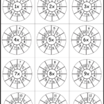 Practice 1 12 Times Table On One Worksheet   Free! | Math Intended For Printable Multiplication Activities