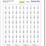 Practice Worksheets With Subtraction Problems That May Yield For Multiplication Worksheets 80 Problems