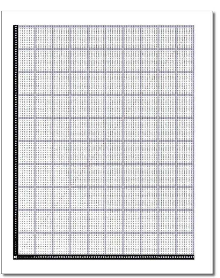 Printable Multiplication Chart Up To 100