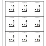 Printable Multiplication Table Flash Cards | Download Them With Large Printable Multiplication Flash Cards