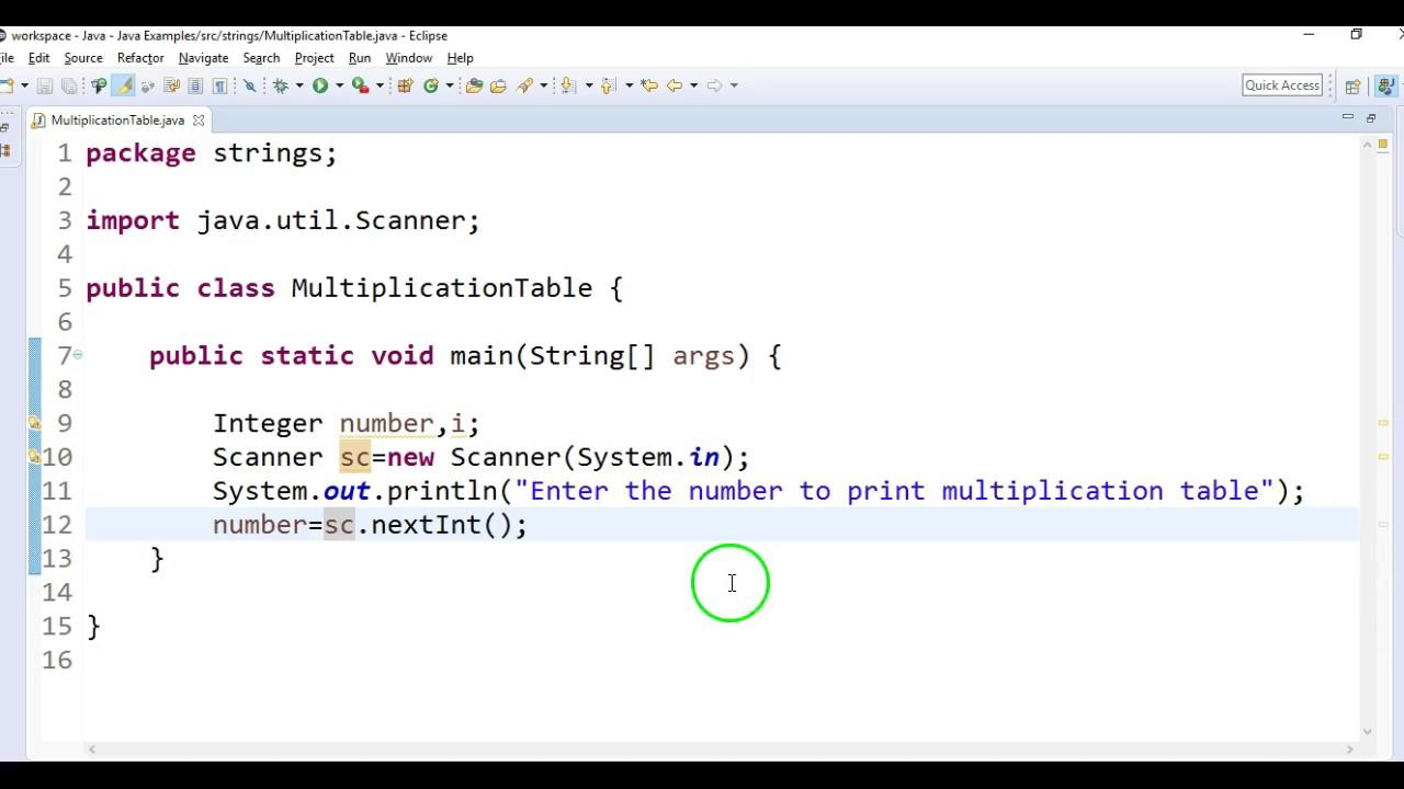 Printable Multiplication Table Java   Download Them Or Print with regard to Printable Multiplication Table Java