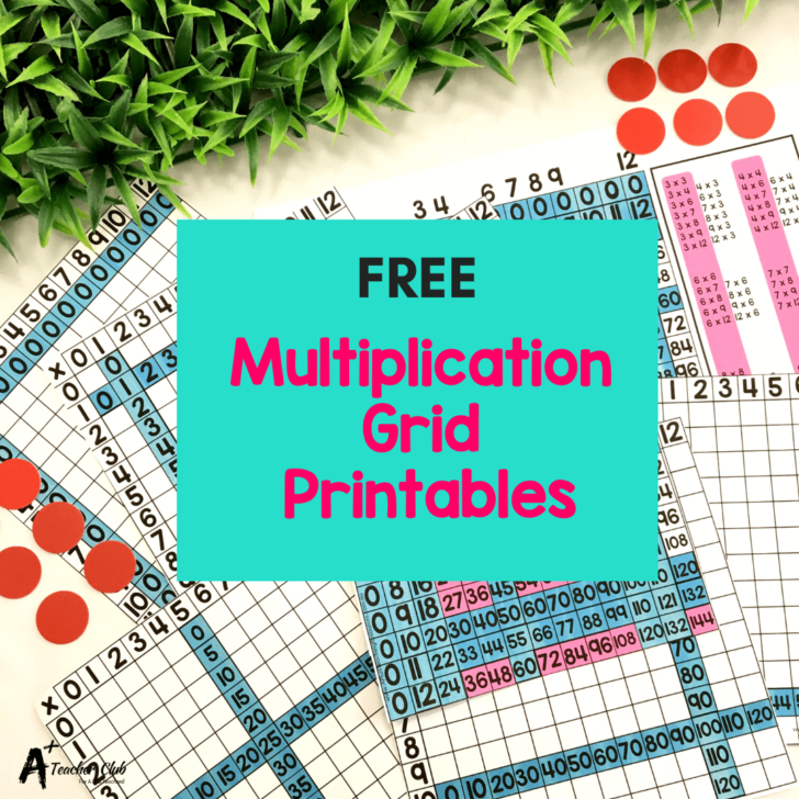 Multiplication Houses Printable