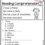 Reading Worskheets: Kindergarten Reading Worksheets. Free Throughout Multiplication Worksheets K12