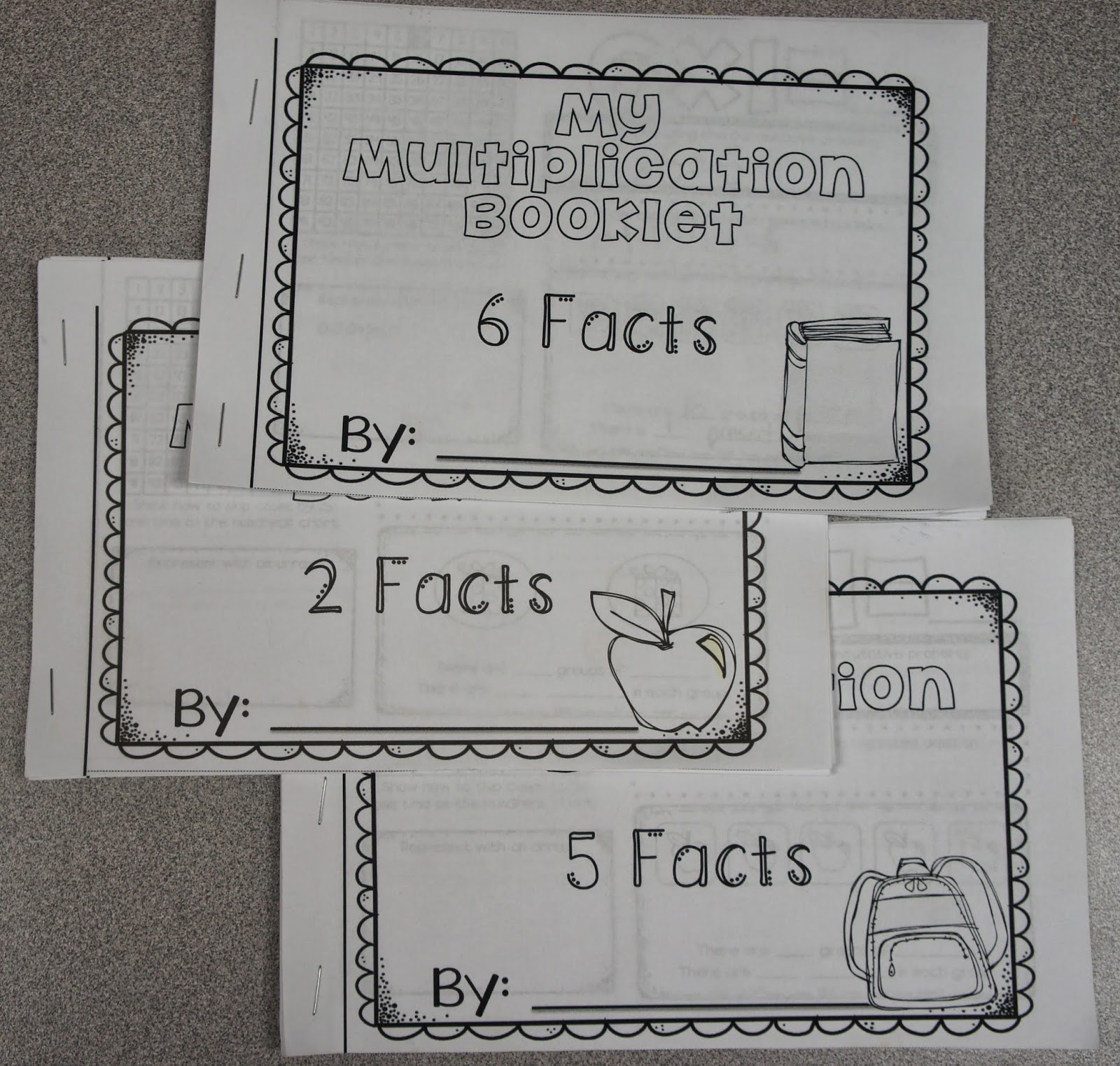 Science Pictures And A Multiplication Freebie - Ashleigh's in Printable Multiplication Booklets