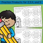 Simple Multiplication Wheels: Math Worksheets   Mamas With Regard To Printable Multiplication Wheels