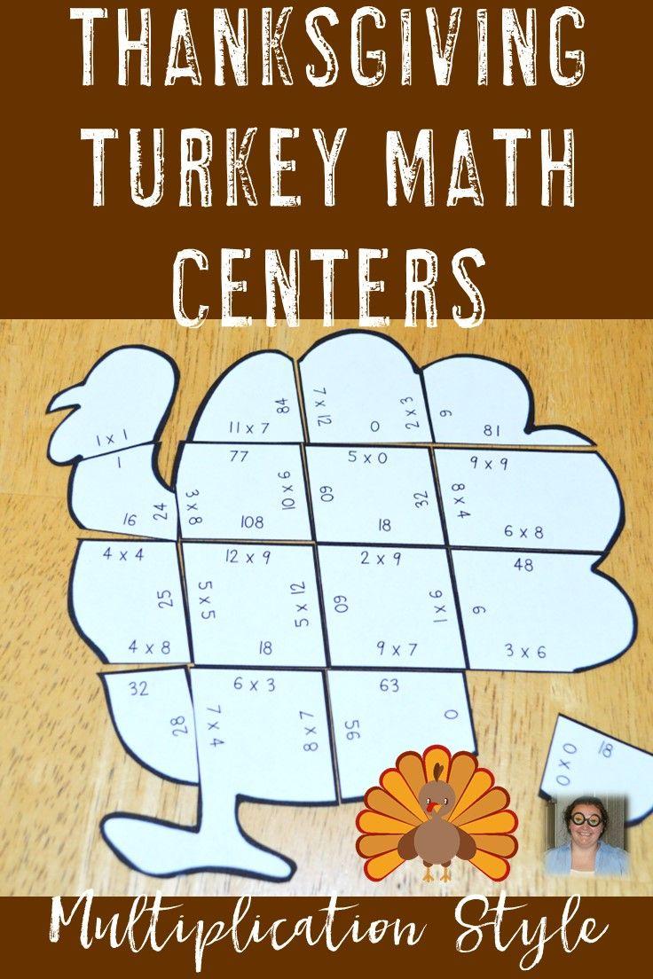 Thanksgiving Math Worksheet Alternative | Thanksgiving Math throughout Printable Multiplication Turkey