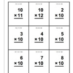 The Best Printable Multiplication Flash Cards | Kennedy\'s Blog In Printable Multiplication Flash Cards 1 12