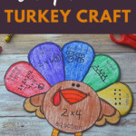 Turkey Craft | Multiplication And Division | Thanksgiving For Printable Multiplication Turkey