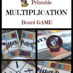Wizard Math Printable Multiplication Board Game | Harry With Printable Multiplication Board Games