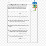 Word Problem Multiplication Worksheet Counting Mathematics Throughout Multiplication Worksheets 3's