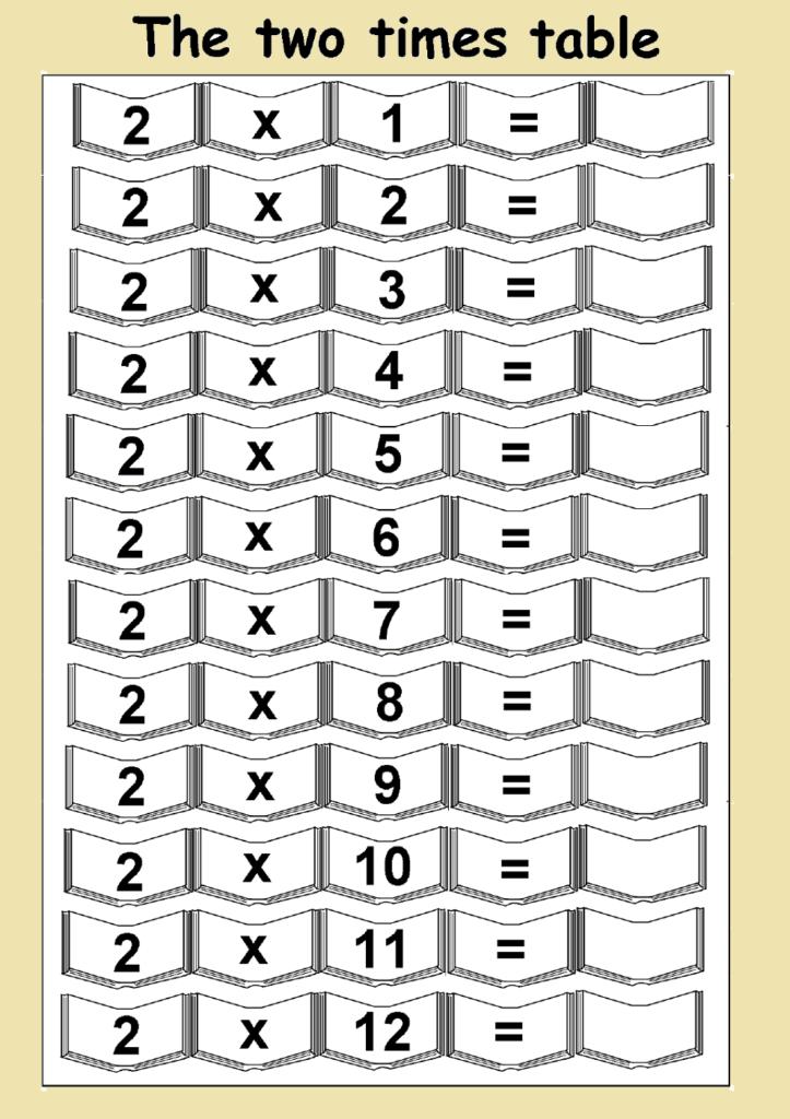 2 Times Table Worksheets | Printable Shelter Regarding 2's Multiplication Worksheets Free