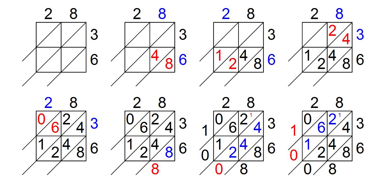 28+ [ Lattice Math Worksheets ] | Winter Lattice in Multiplication Worksheets Lattice