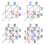 28+ [ Lattice Math Worksheets ] | Winter Lattice Within Printable Lattice Multiplication Worksheets