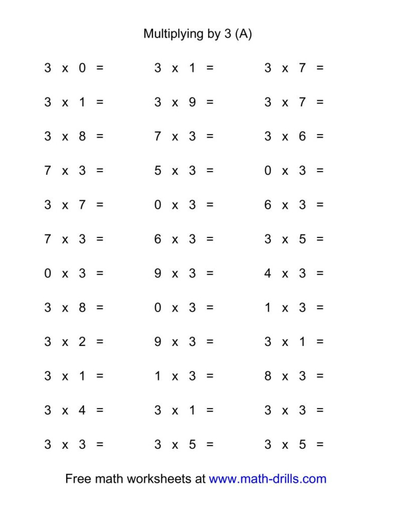 36 Horizontal Multiplication Facts Questions    30 9 (A) Regarding Printable Multiplication Flash Cards 0 9