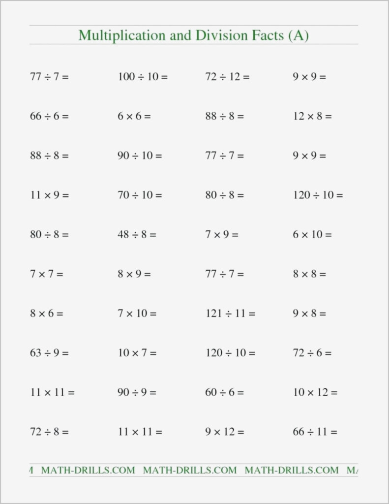 Advanced Integers Worksheet | Printable Worksheets And Pertaining To Multiplication Worksheets 7S