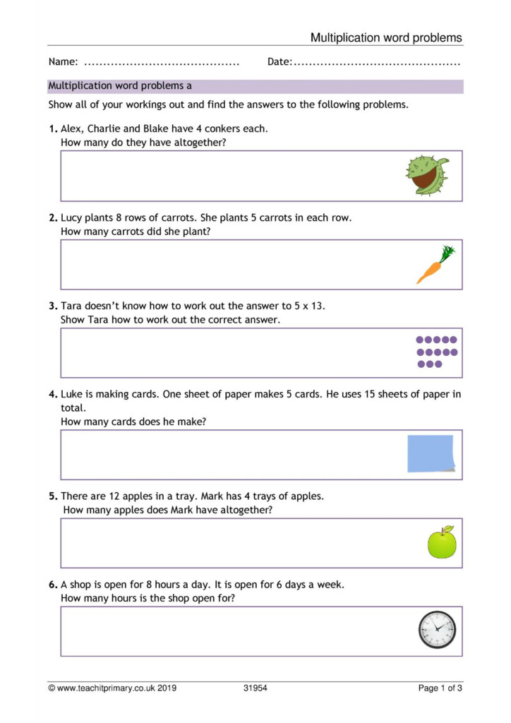 Basic Multiplication And Division   Search Results   Teachit Regarding Multiplication Worksheets Ks1