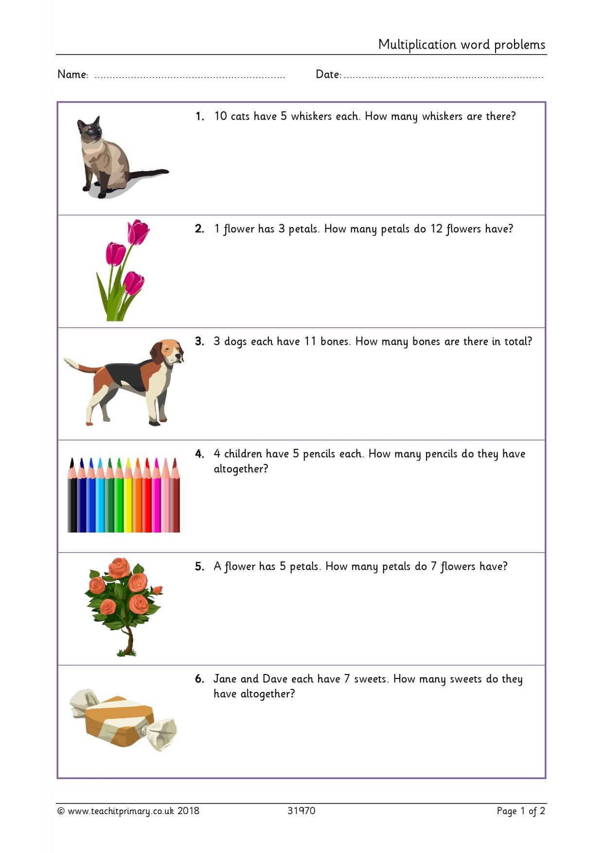 Basic Multiplication And Division - Search Results - Teachit with Multiplication Worksheets Ks1