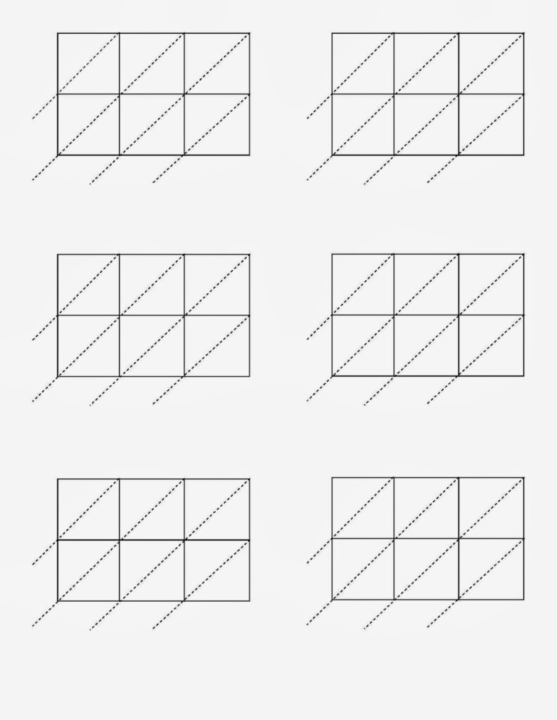 Blank Lattice Multiplication Worksheets & Lattice Inside Printable Lattice Multiplication Worksheets