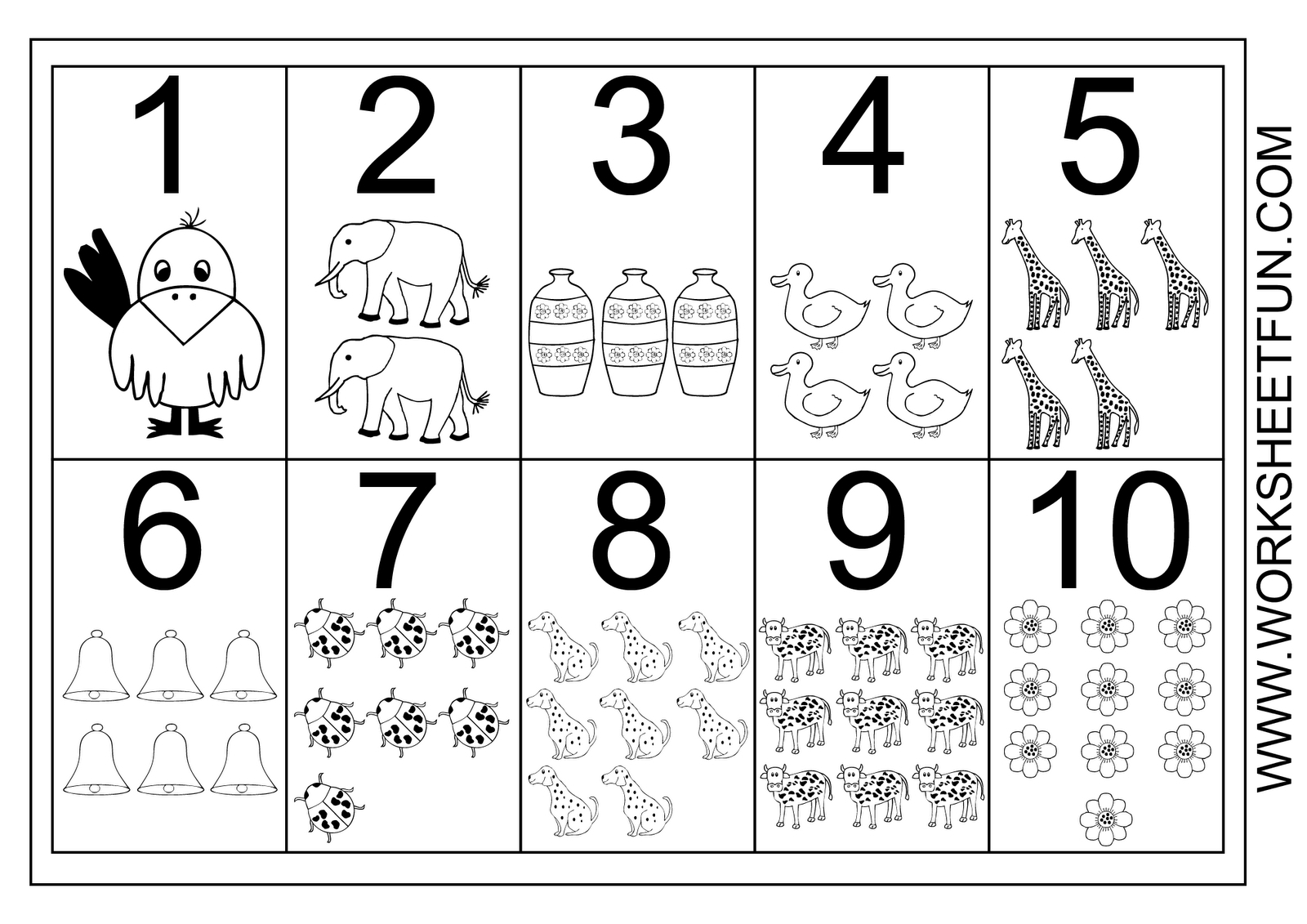 Chart For Math 10 Worksheet | Printable Worksheets And throughout Multiplication Worksheets Numbers 1-10