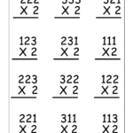 Copy Of Single Digit Multiplication Worksheets   Lessons For Multiplication Worksheets Double Digit