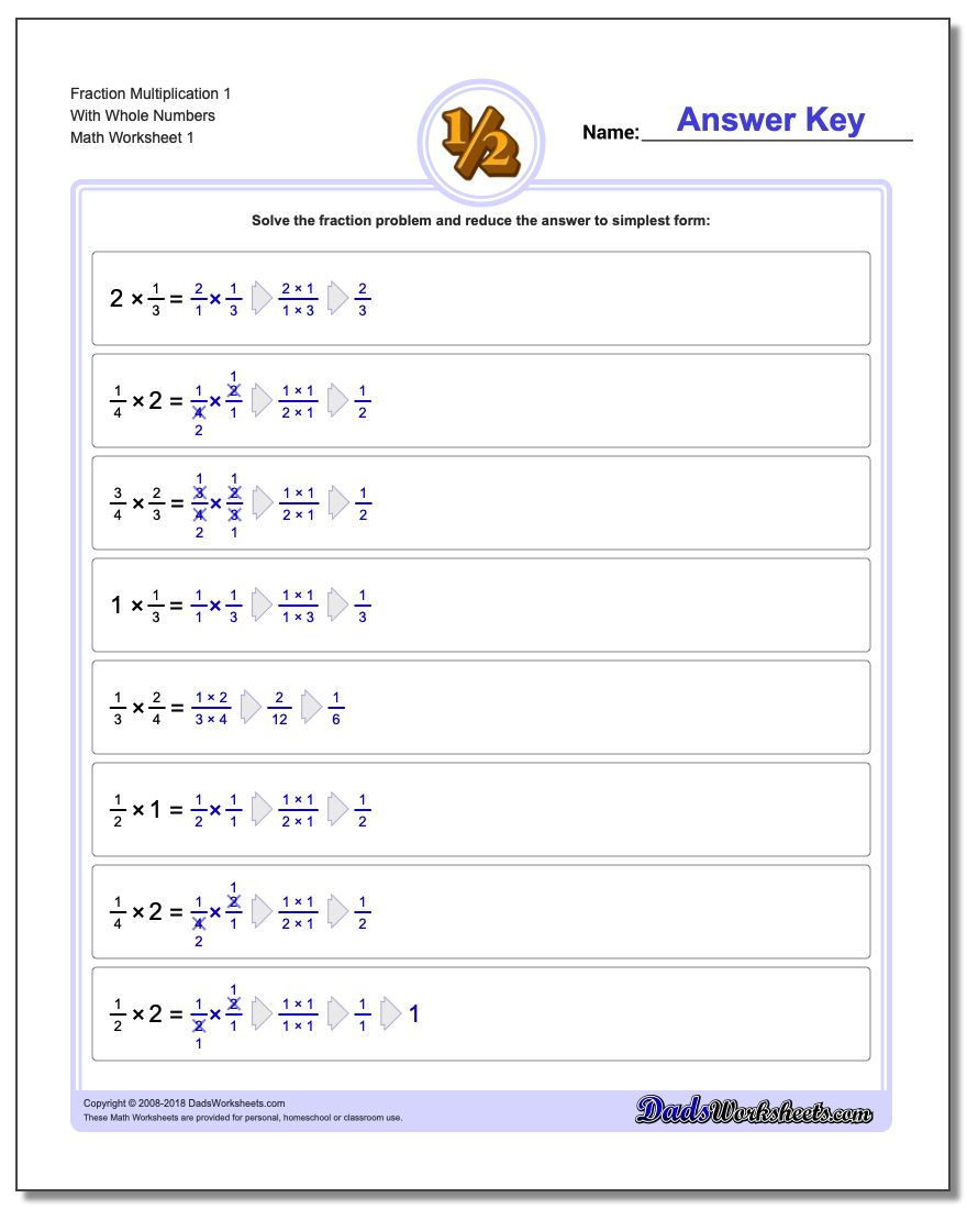 Fraction Multiplication within Printable Multiplication Of Fractions