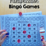 Free Single Player Multiplication Bingo Games   The Measured Mom Inside Printable Multiplication Bingo