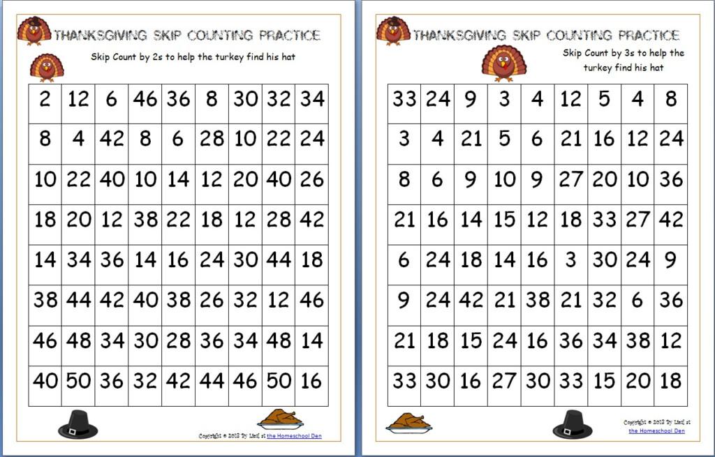 Free Thanksgiving Math Worksheets Archives   Homeschool Den For Multiplication Worksheets Homeschool