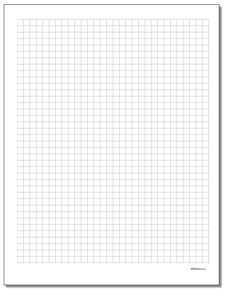 Graph Paper Throughout Multiplication Worksheets On Grid Paper
