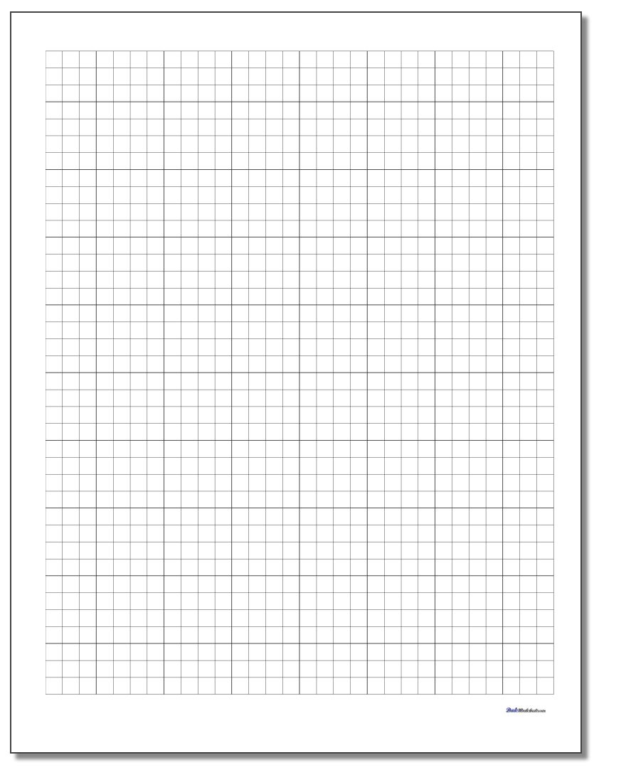 Graph Paper with regard to Multiplication Worksheets On Graph Paper