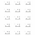 Hard Multiplication 2 Digit Problems | Worksheet Practice Inside Multiplication Worksheets Hard