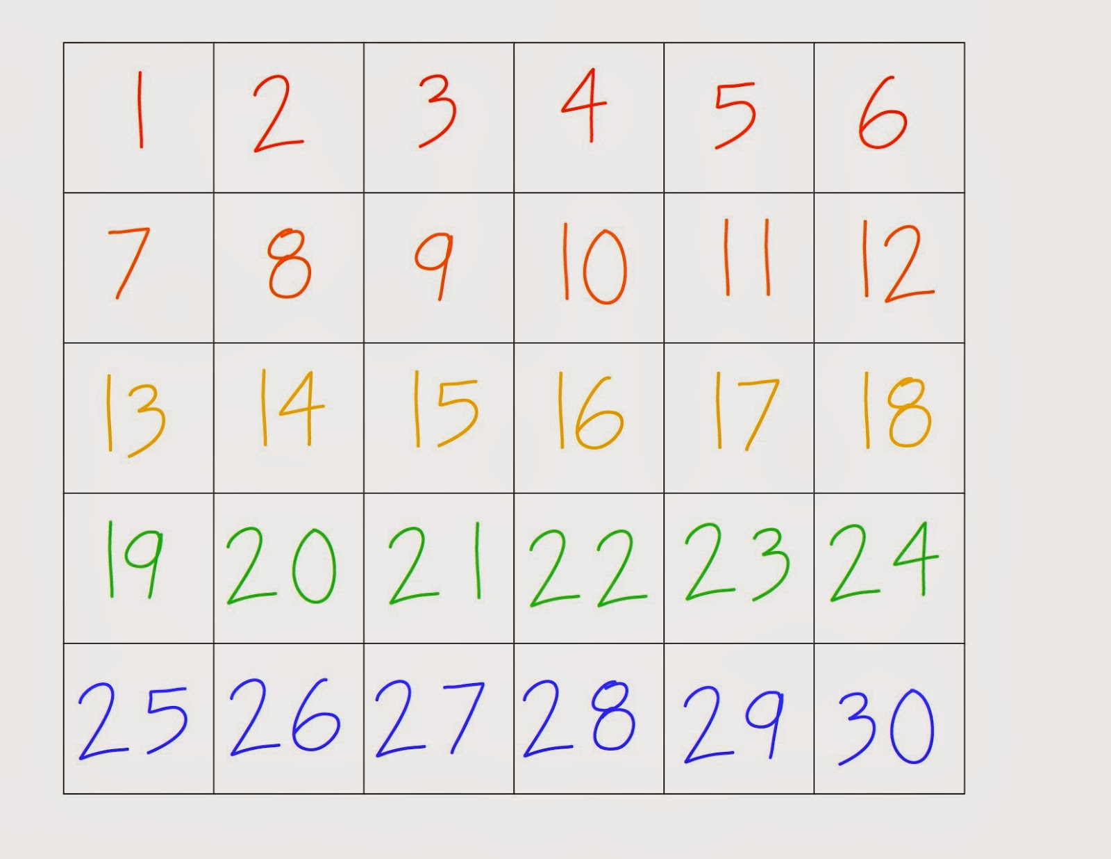 Hd Wallpapers Printable Number Charts 1 30 Yyp.earecom.press pertaining to Printable Multiplication Chart 1-30
