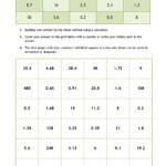 Ks4 | Multiplication And Division | Teachit Maths For Multiplication Worksheets Ks4