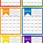 Math Bingo Printable For Kids   Free | Math Bingo, Math For In Printable Multiplication Bingo