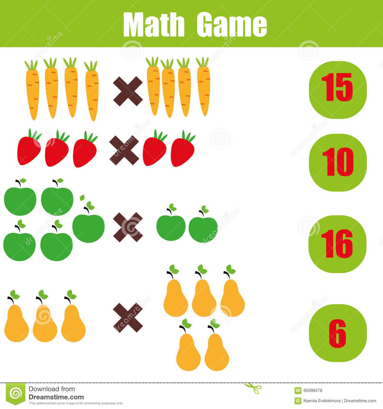Math Educational Game For Children, Multiplication throughout Multiplication Worksheets Education.com