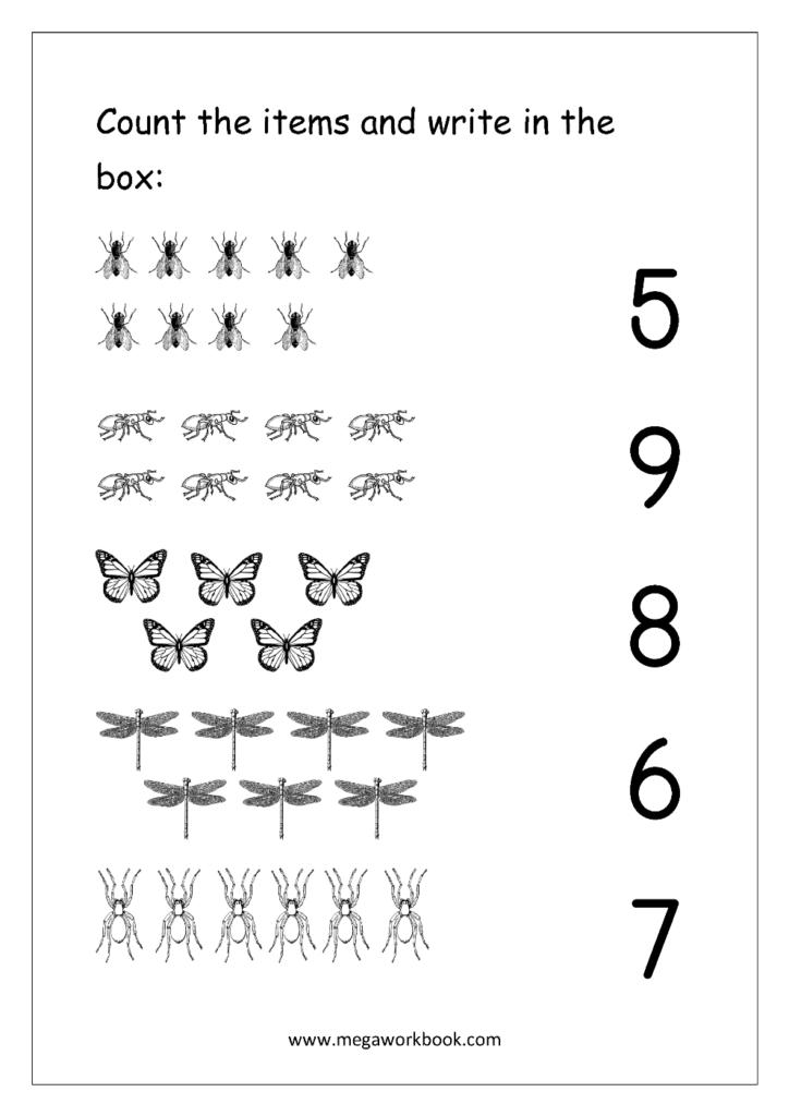 Math Matching Worksheets & Preschool Matching Worksheets In Multiplication Worksheets Numbers 1 10