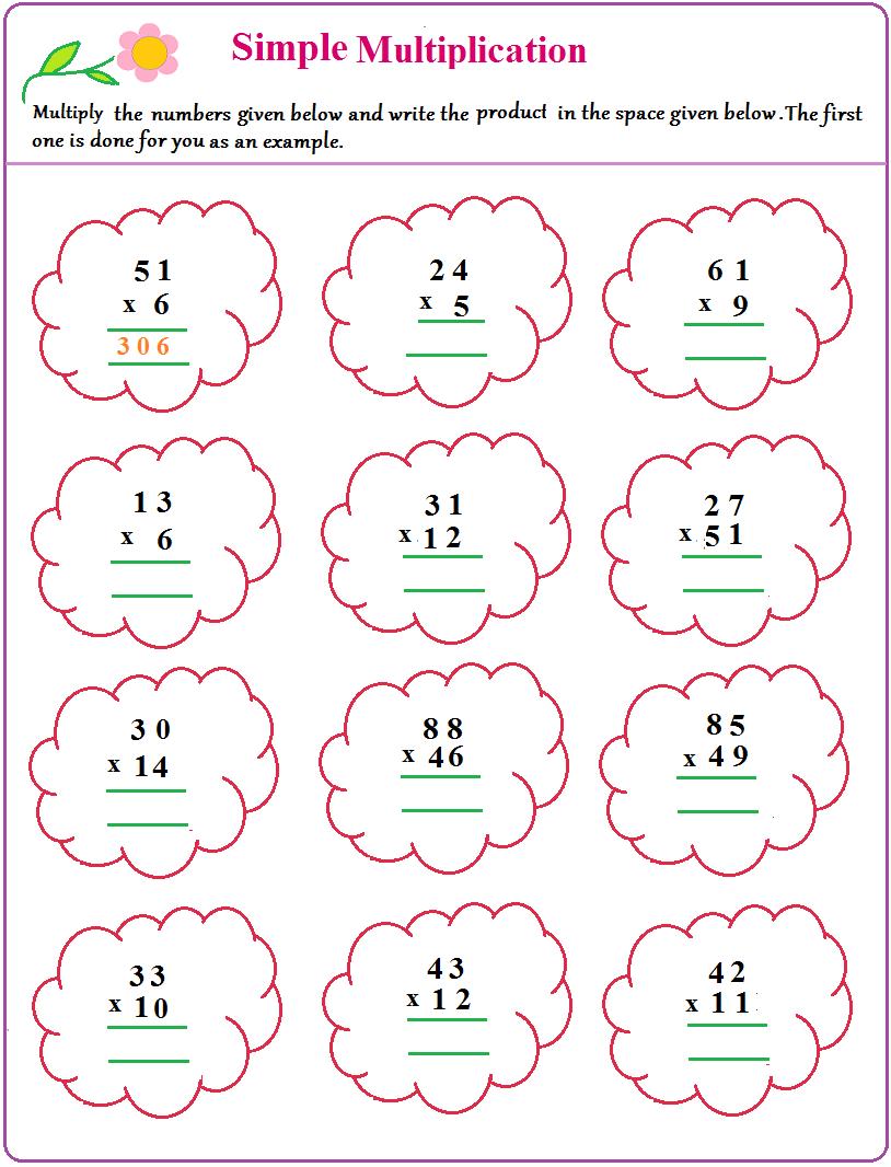 Maths - Lessons - Tes Teach intended for Multiplication Worksheets Ks1