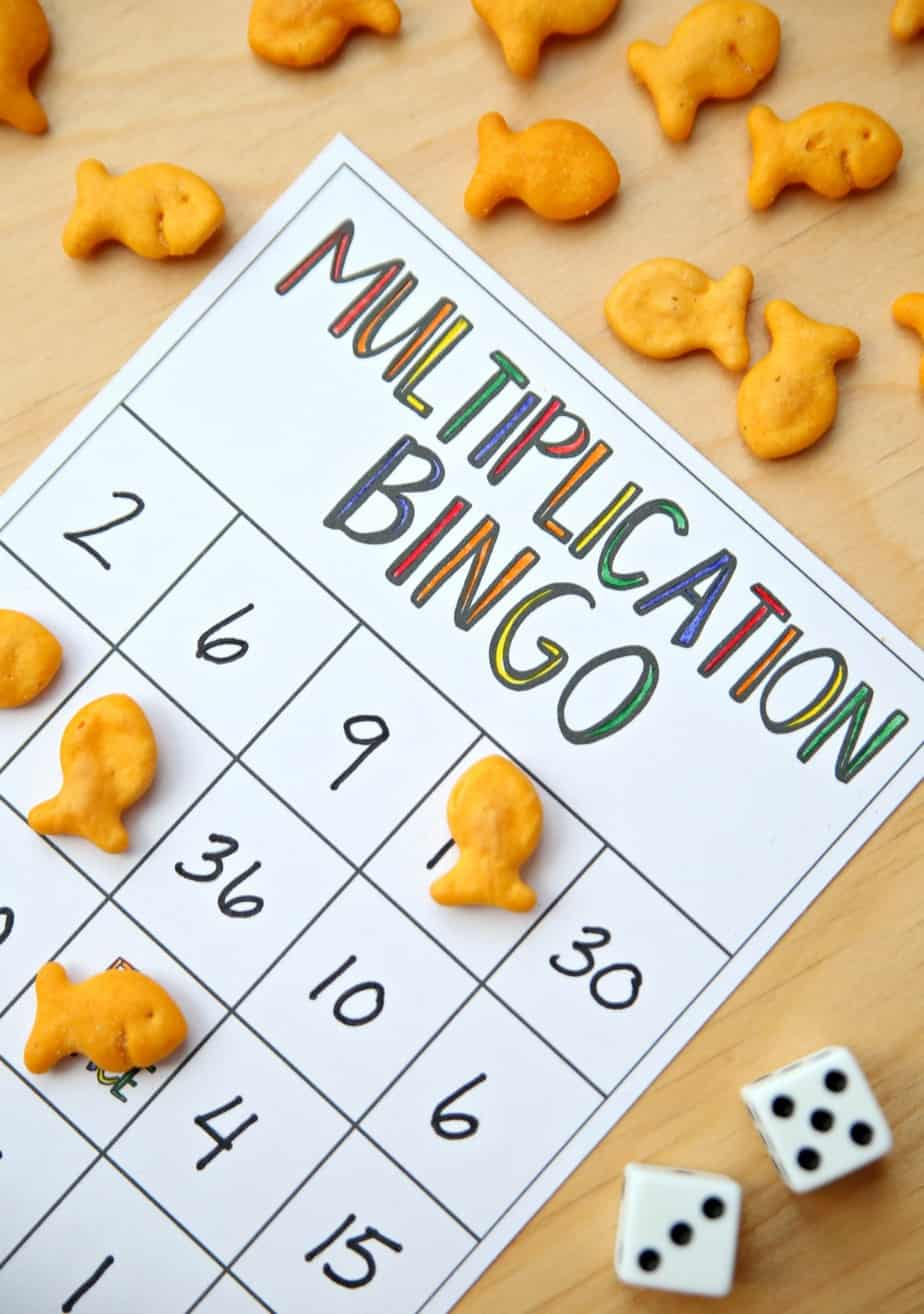 Multiplication Bingo intended for Printable Multiplication Bingo Game
