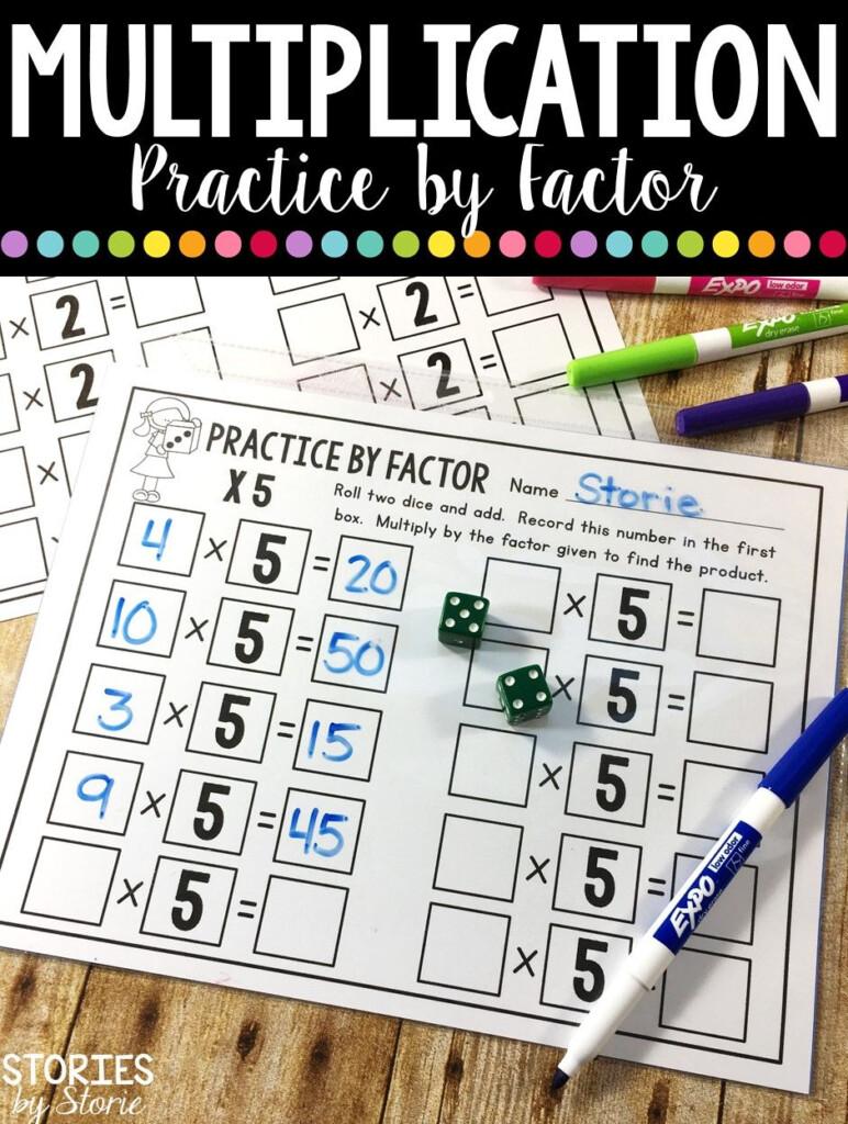 Multiplication Dice Games | Multiplication, Math Workbook For Printable Multiplication Dice Games