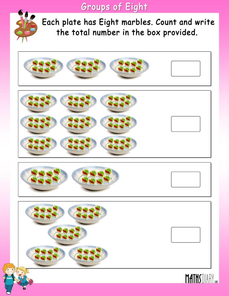 Multiplication Fact   Math Worksheets   Mathsdiary Within Worksheets Multiplication Grade 1